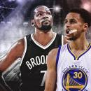 NBA Warriors Nets