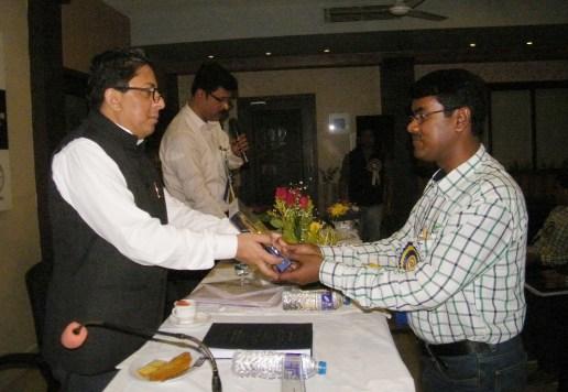 Distribution of Prizes by Principal Secretary