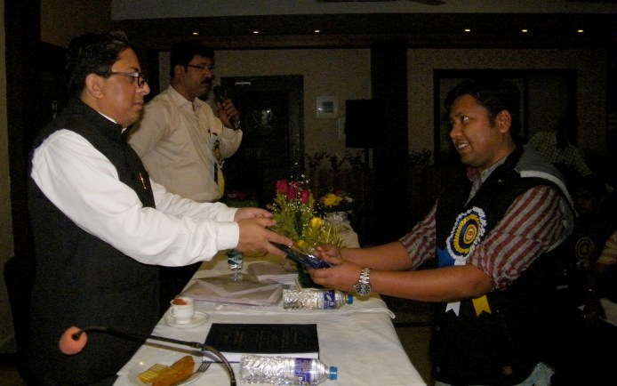 Principal Secretary was honoured by one of our members