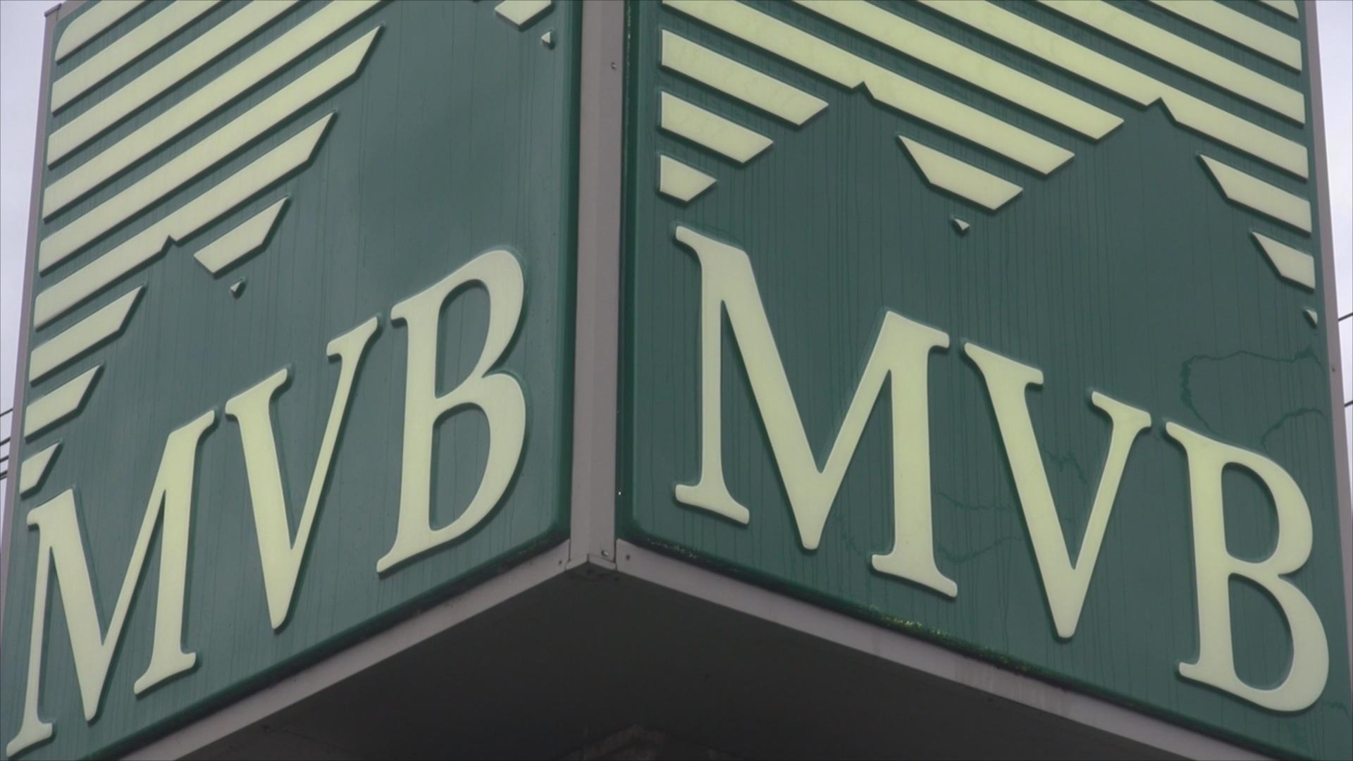 MVB Bank Sign