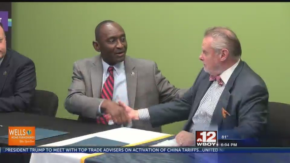 ABU and Pierpont Community & Technical College sign articulation agreement to further partnership