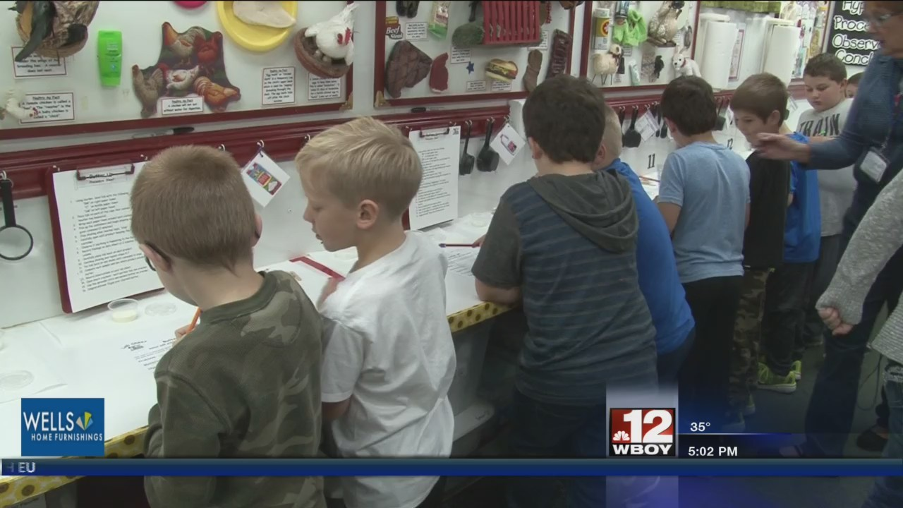 Wilsonburg Elementary School students learn agriculture education