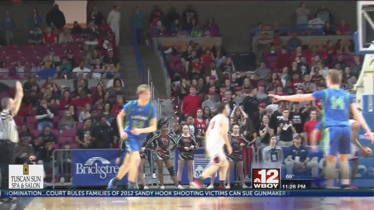 Robert C. Byrd silences Oak Hill in second half to advance to state semi's