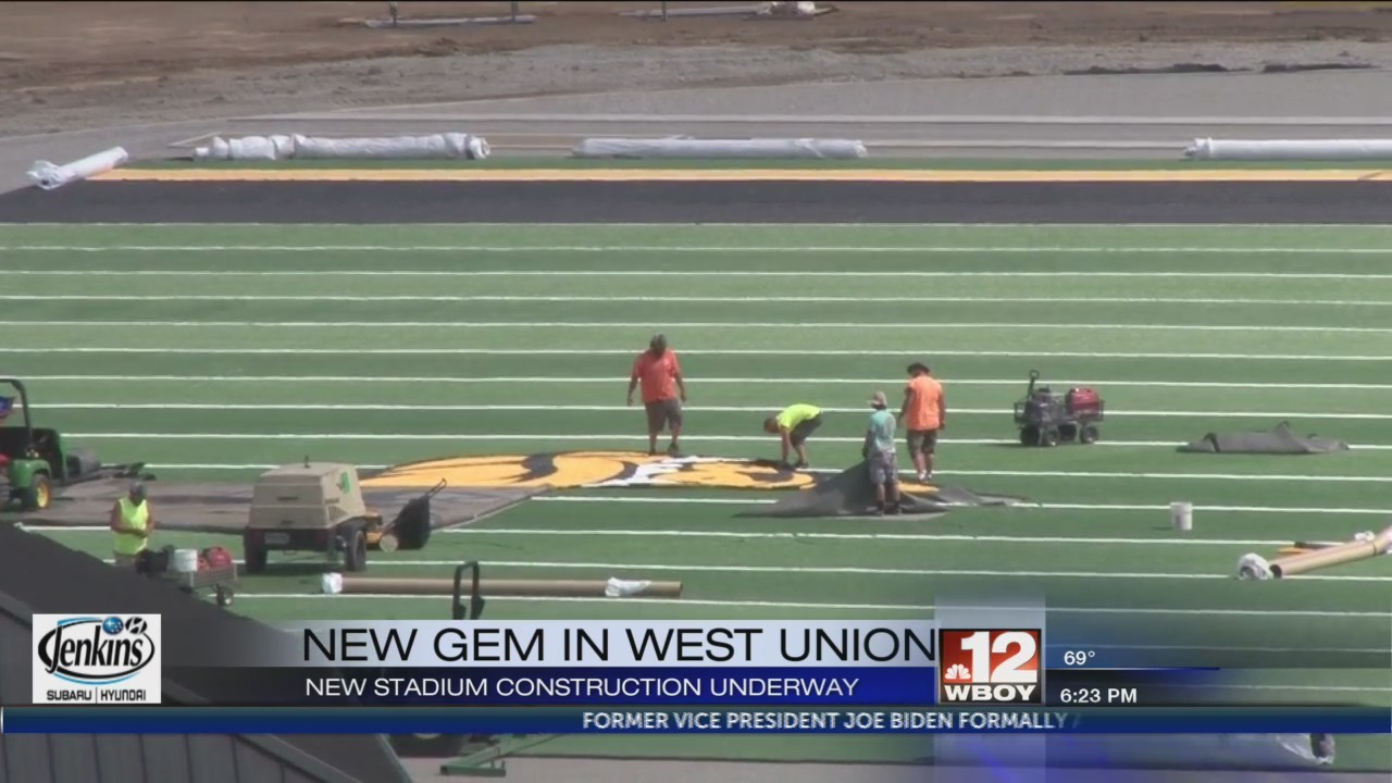 Doddridge County football facility nears completion
