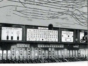 Westinghouse Brake & Saxby Signal Co LtdEuston signal box