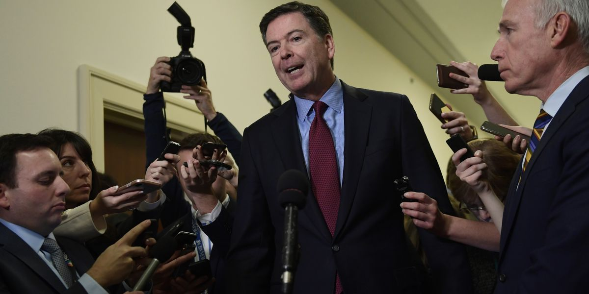 Image result for photos of comey at us judiciary committee hearing