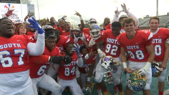 South Team Beats North in North vs. South Bowl
