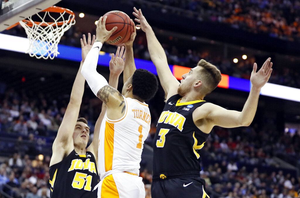 NCAA Tennessee Iowa Basketball_1553458718446