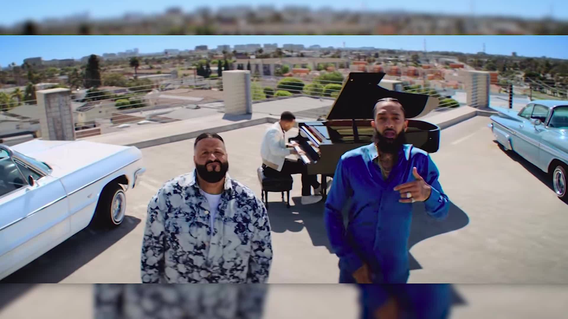 Nipsey Hussle's last music video, featuring DJ Khaled and John Legend, released