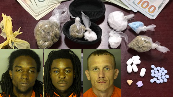 3 charged after tips lead to undercover drug bust in Myrtle Beach