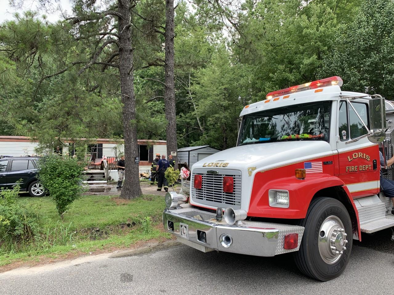loris mobile home fire