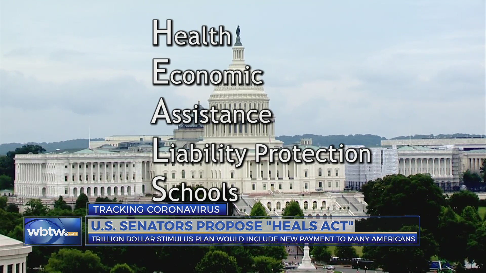 HEALS Act: Health, Economics Assistance, liability protection, schools