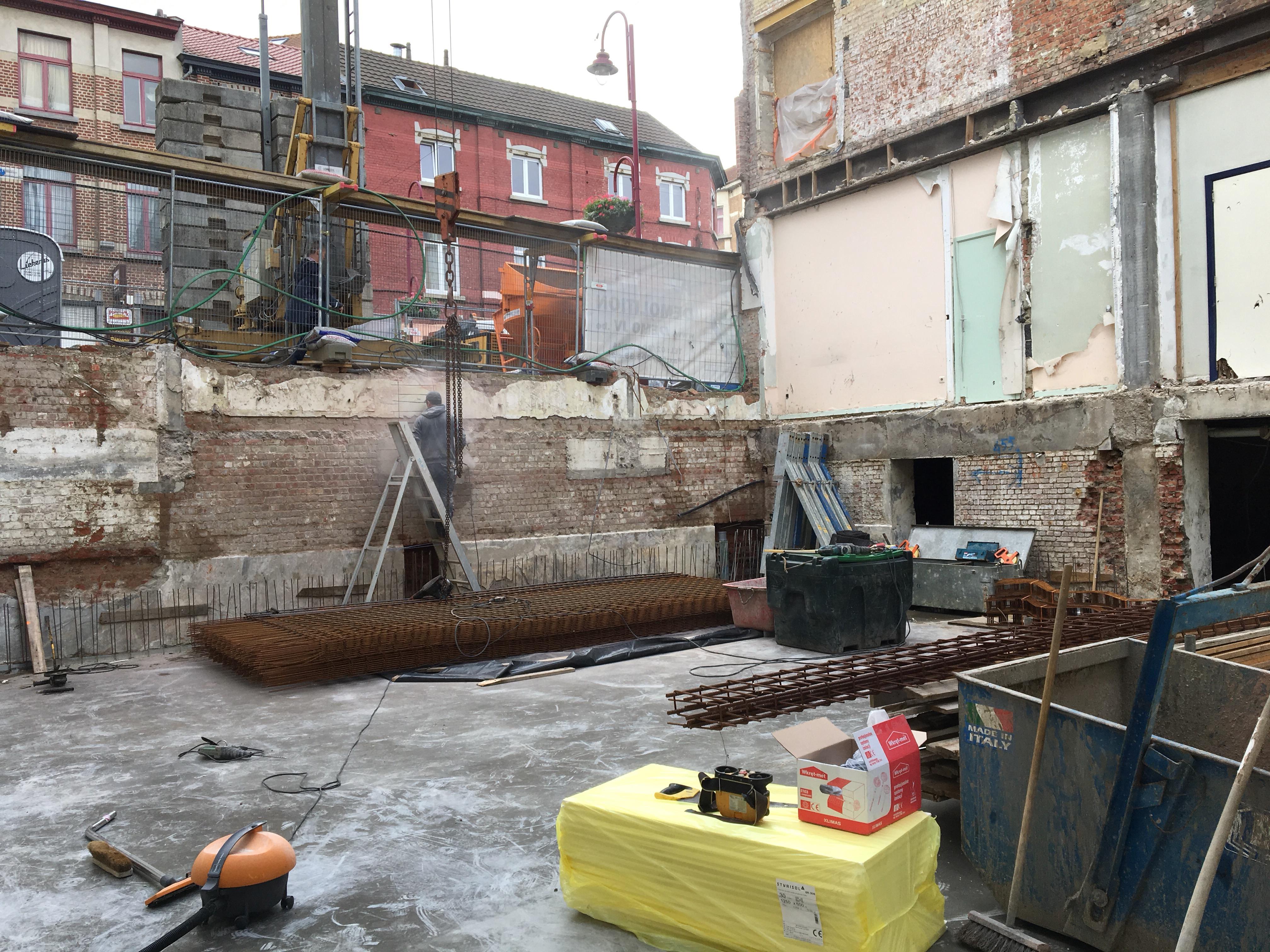 Canal Porn Maquinas Cons renovatie project te brussel - wbuild bouw-en projectcoördinatie