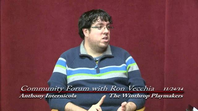 Community Forum With Ron Vecchia: Playmakers