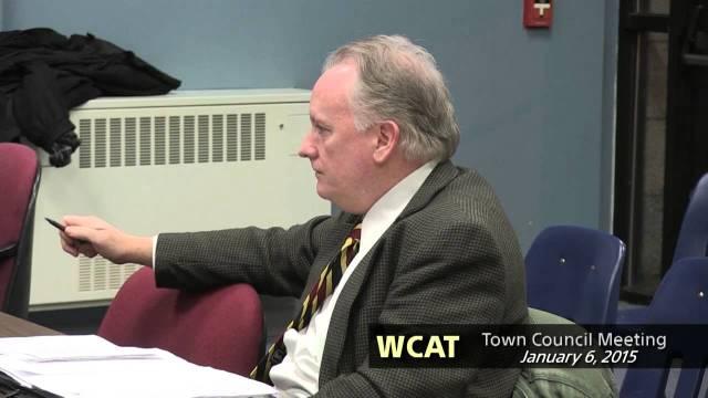 Winthrop Town Council, January 6, 2015