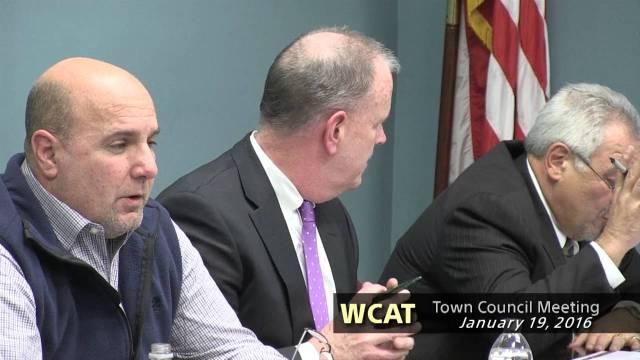 Winthrop Town Council January 19 2016