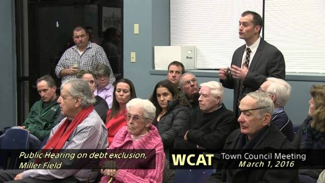 Winthrop Town Council Meeting of March 1, 2016