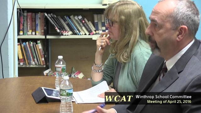 School Committee Meeting April 25, 2016