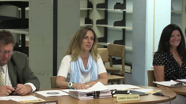 Winthrop School Committee Meeting – August 3, 2016