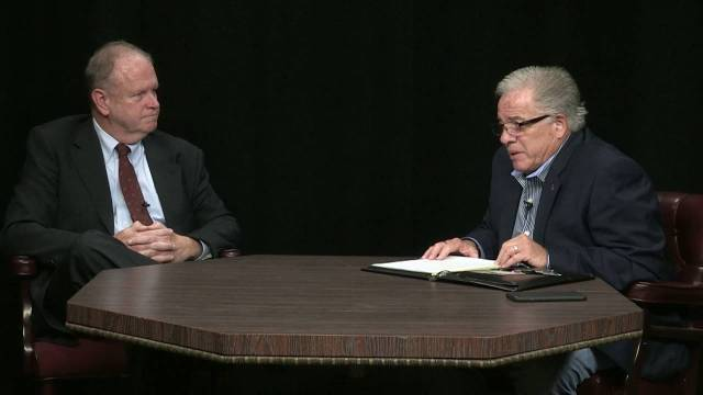Community Forum With Ron Vecchia: Town Council President Bob Driscoll