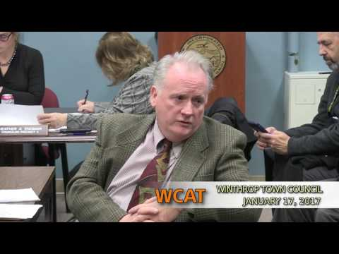 Winthrop Town Council Meeting of January 17, 2017