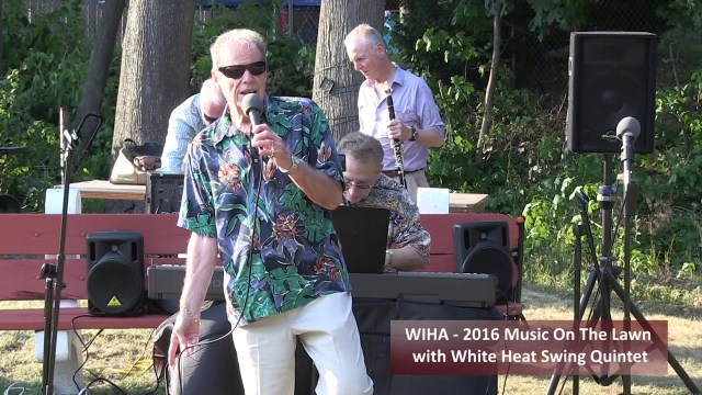 White Heat Swing Quintet At The Deane Winthrop House, Winthrop, MA