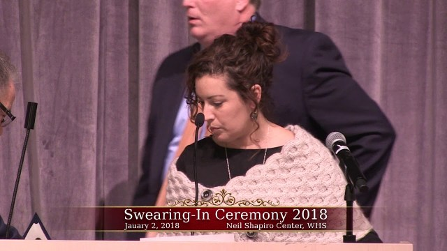 Winthrop Elected Officials Swearing In Ceremony 2018