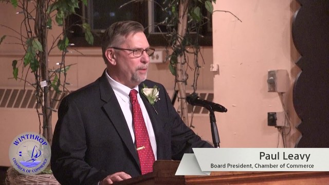 Winthrop Chamber Of Commerce Awards Ceremony 2018