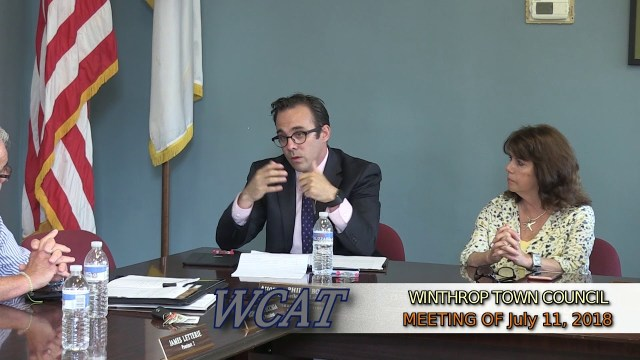 Special Town Council Meeting of July 11th, 2018