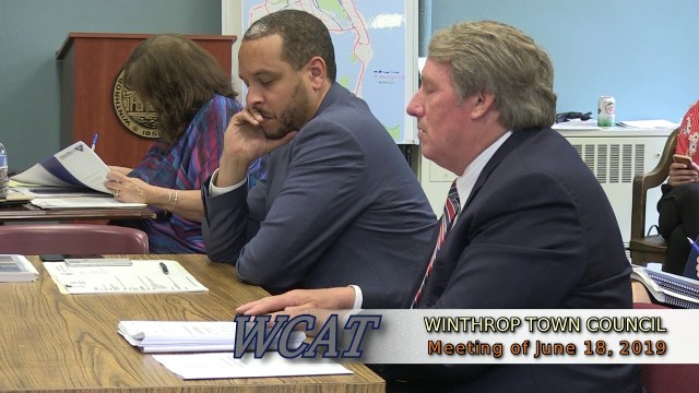 Winthrop Town Council Meeting of June 18, 2019