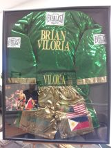 "Brian ""The Hawaiian Punch"" Viloria Jacket/Shorts/Photo"