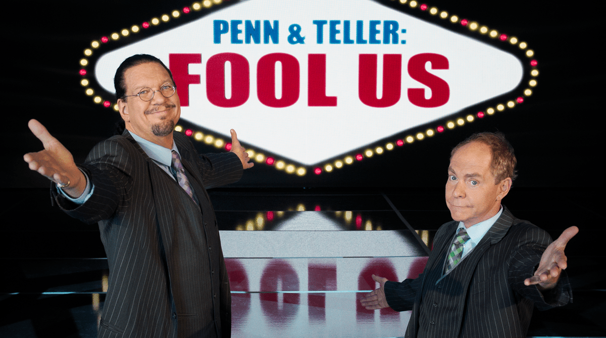 Image result for penn and teller fool us