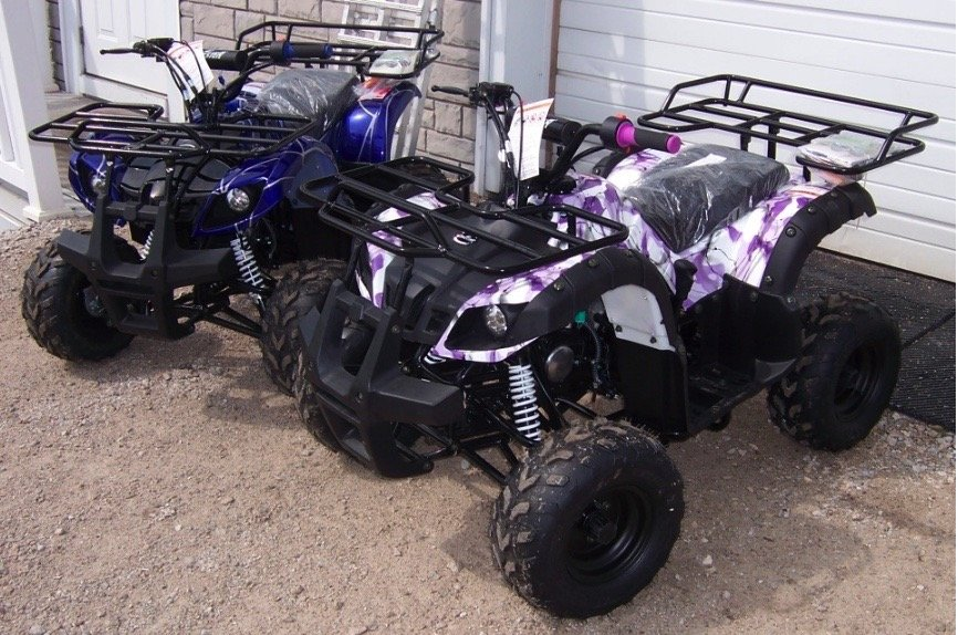 ATV 125cc Youth Utility Auto With Reverse