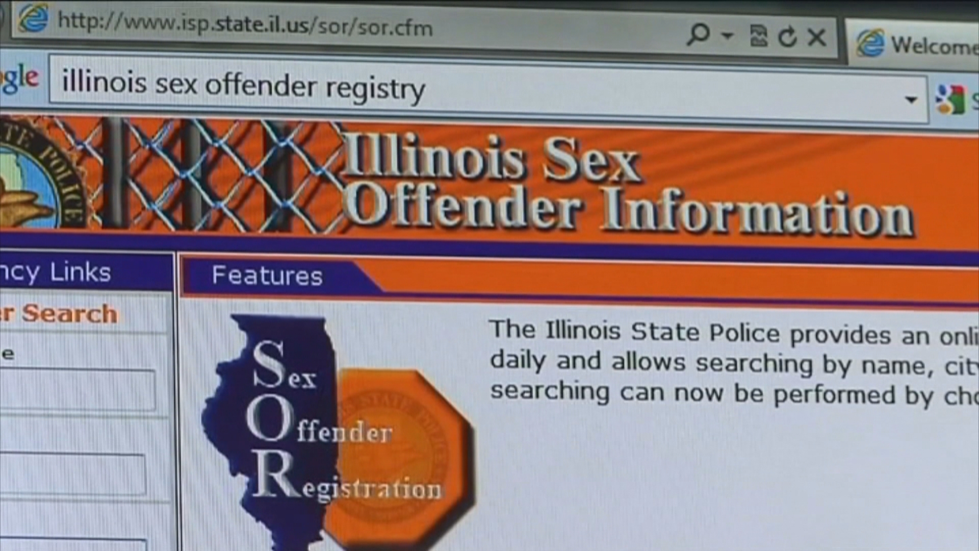 Illinois offender search