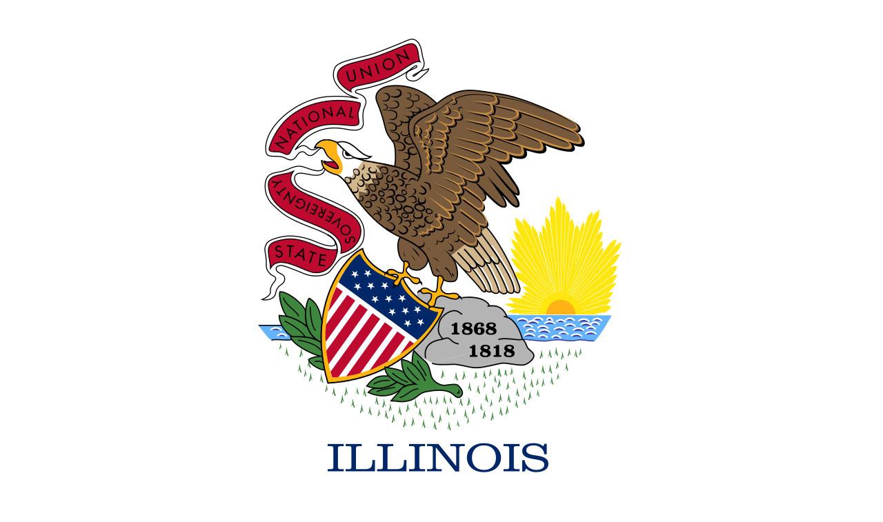 Illinois state flag06048656-159532