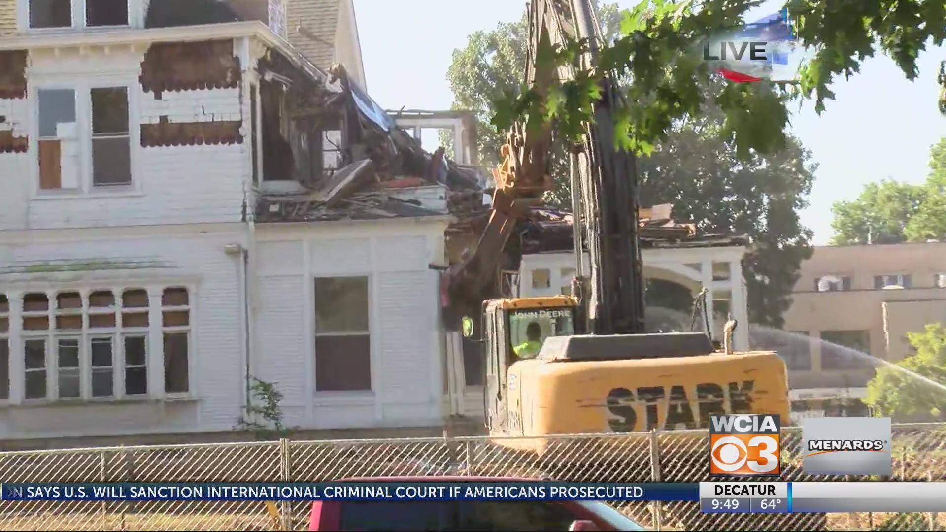 Mansion Demolition