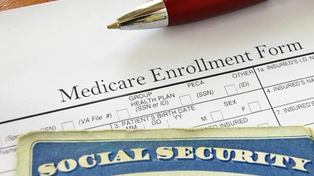 Medicare enrollment form, Social Security card_3584293413959178-159532