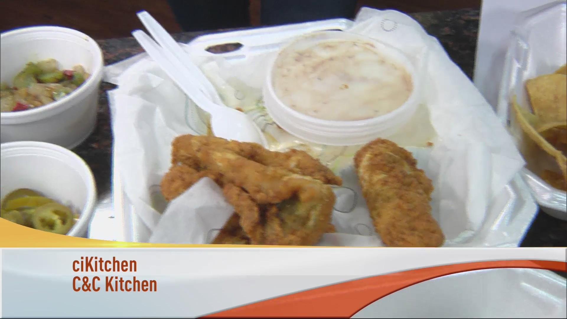 C C Kitchen Inside Fat City Bar Grill