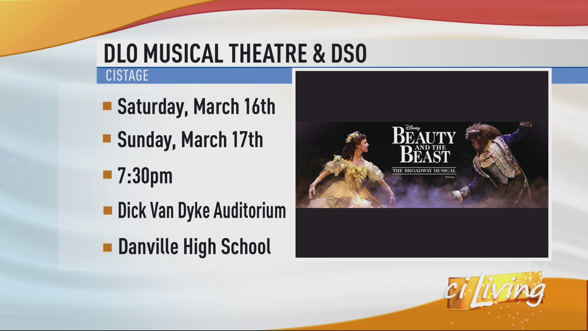 DLO Musical Theatre Beauty and the Beast Interview