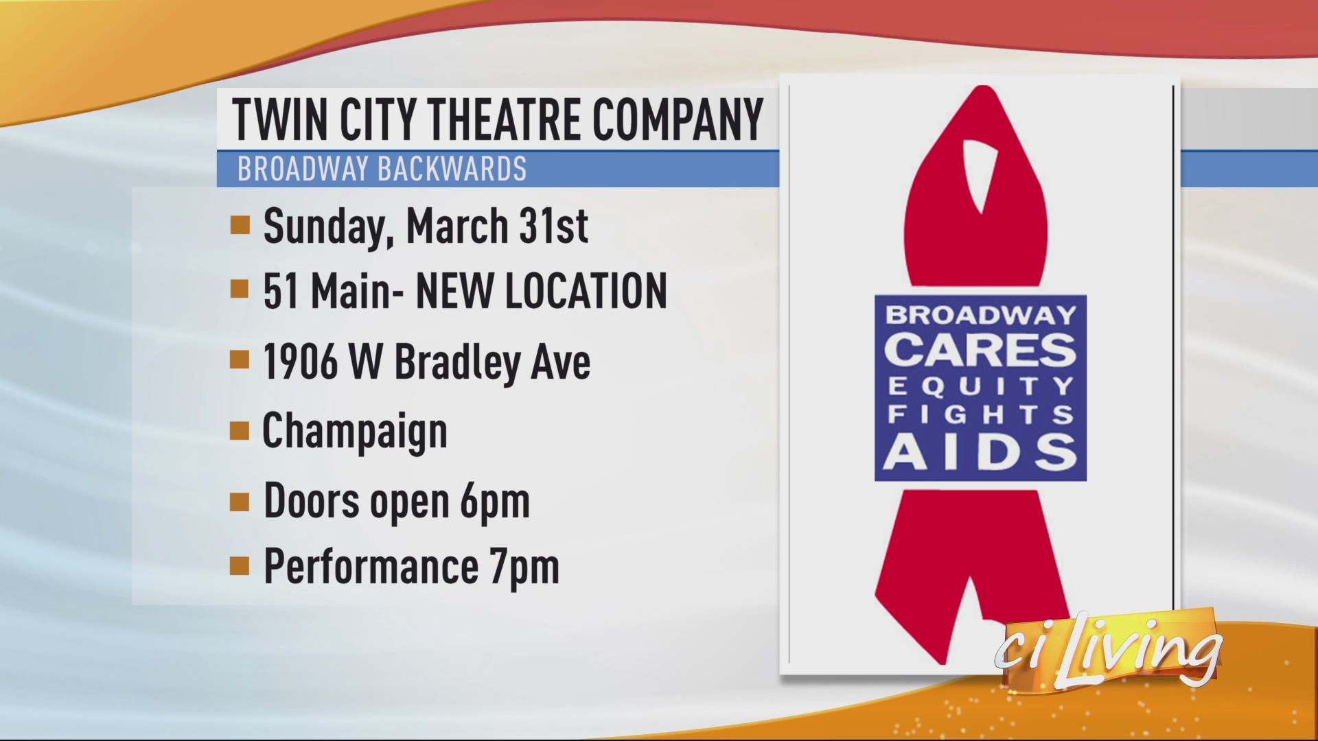 Twin City Theatre Company Broadway Backwards