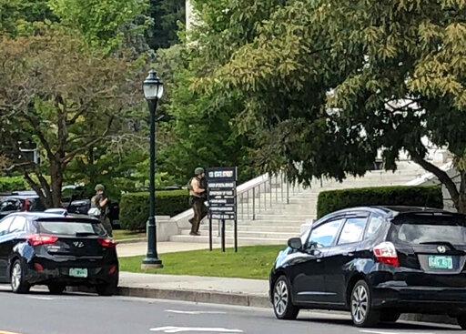 No gun or intruder found after Vermont Statehouse lockdown