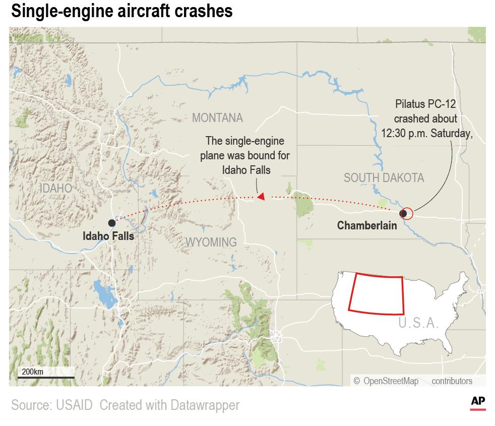 SD Plane Crash