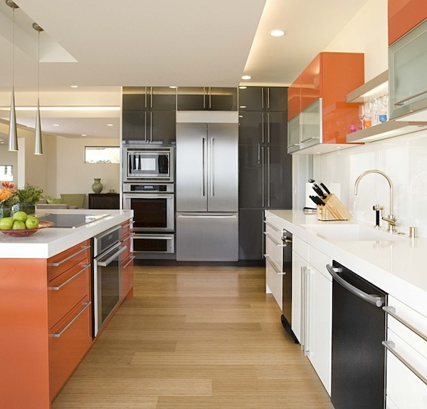 15 - Orange Kitchen