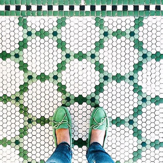 Hexagon Floor Example