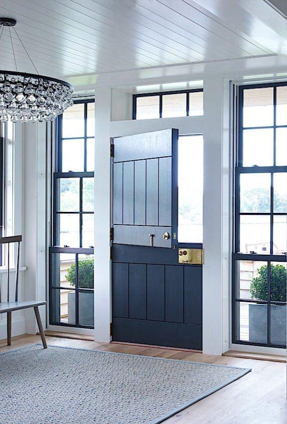 ike-kligerman-barkley-watch-hill-black-dutch-door-entryway