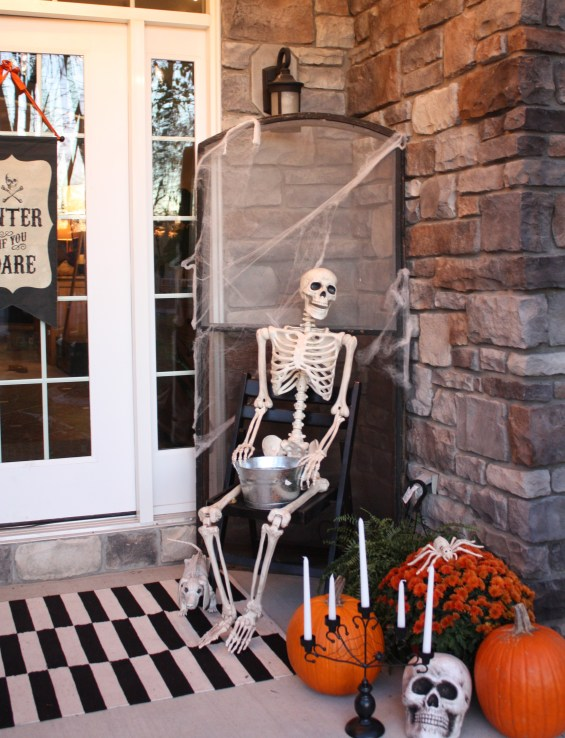 W. Collective Halloween Front Porch Decor