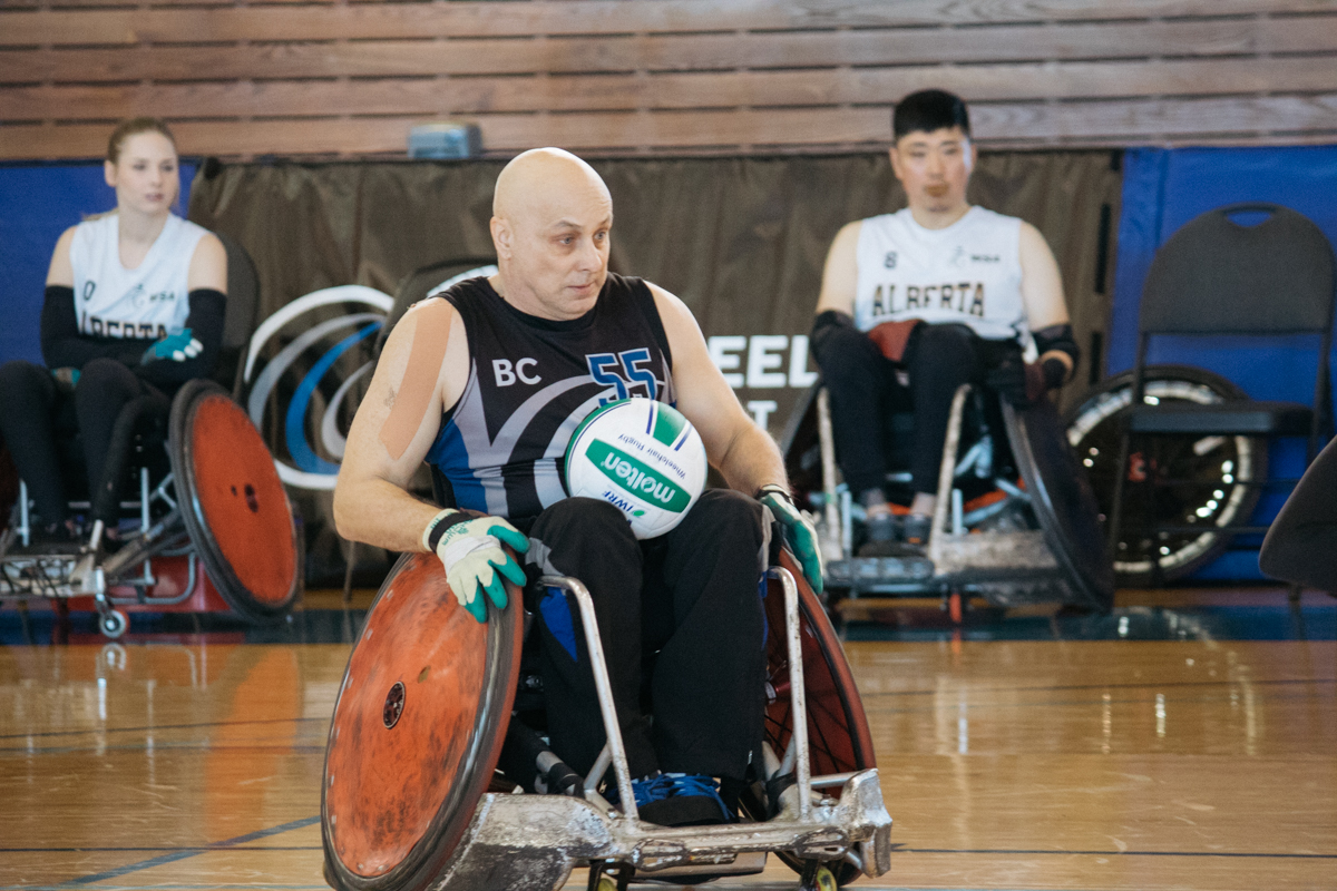wheelchair rugby at the vancouver invitational you ve never seen