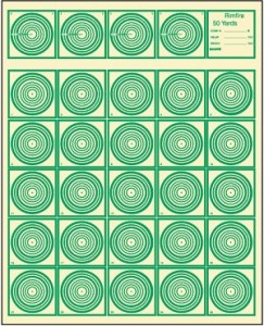 Rimfire Rifle Competition .22 Caliber Rifles 50 yards @ Range #1
