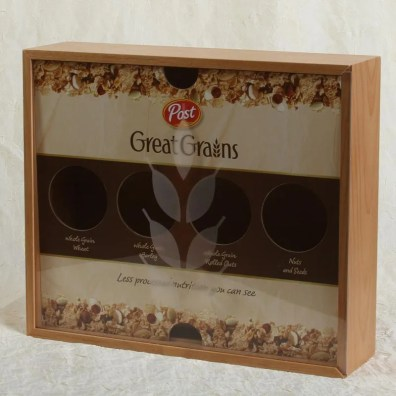 Display Box for Post Great Grains