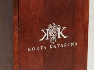 Wine package for Korta Katarina Wine, a Croatia Winery